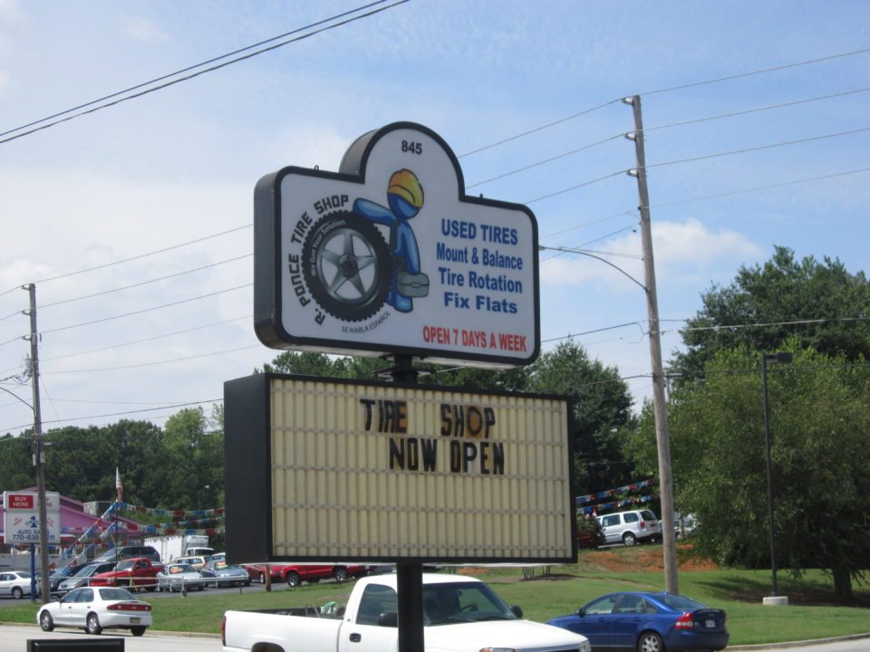 Tire Shop On Bankhead Now Open The City Menus