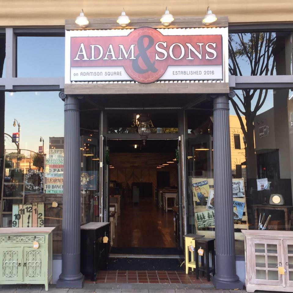 Adam And Sons Offers Rustic Furniture For Less The City Menus