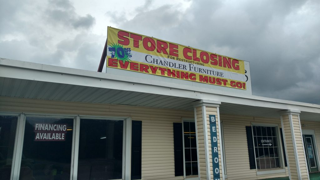 A Long Standing Local Furniture Store Will Be Closing For Restructuring  Soon As A New One Will Eventually Take Its Place. Chandleru0027s Furniture,  Located At ...